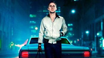 Una scena del film Drive con Ryan Gosling