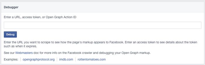 facebook-debugger-tool