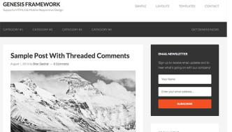 Il framework Genesis per WordPress