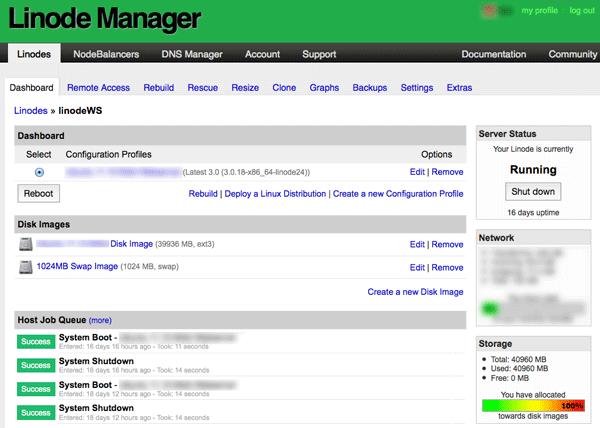 Linode Manager