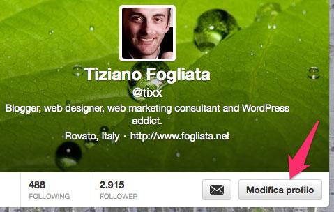 Come cambiare la foto del profilo Twitter in modo facile e veloce